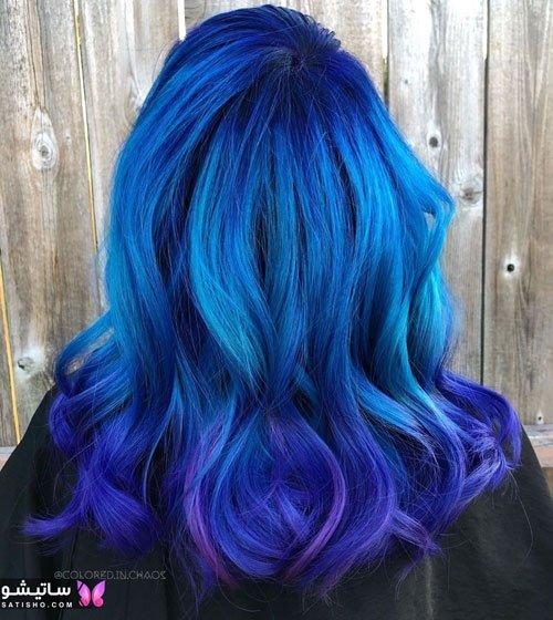 بهترین مدل رنگ مو امسال