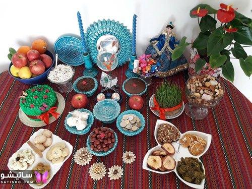 سفره آرایی عید نوروز 1400