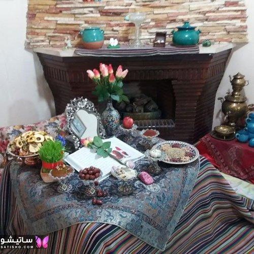 سفره آرایی هفت سین عید نوروز
