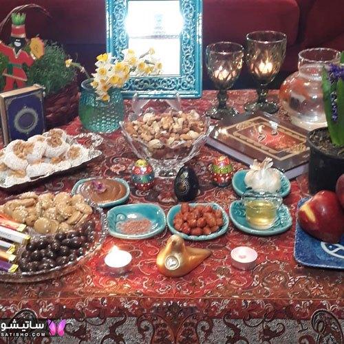 سفره هفت سین عید نوروز جدید