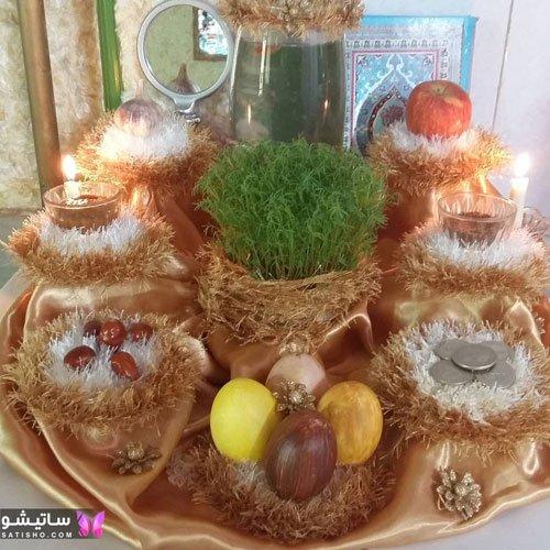 عکس های سبزه عید جدید برای هفت سین