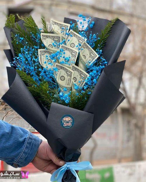 تزیین پول کادویی عروس