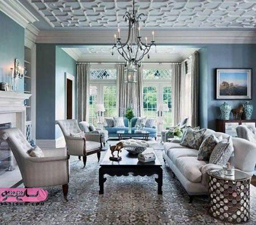 مدل دکوراسیون داخلی خانه سبک جدید