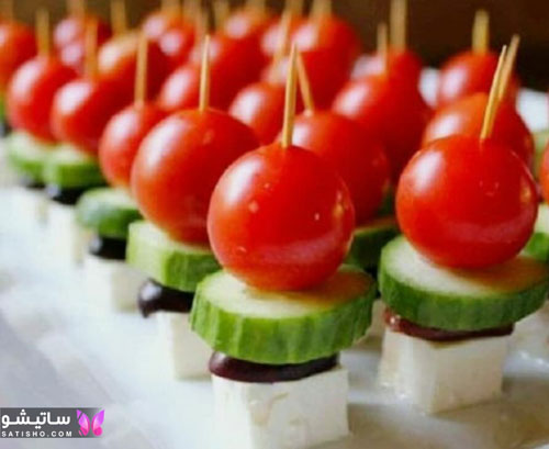 فینگرفود سبزیجات