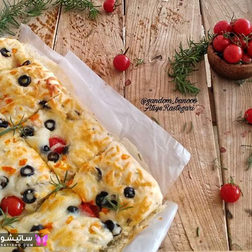 فینگرفود نان ایتالیایی