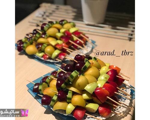 فینگر فود میوه ای