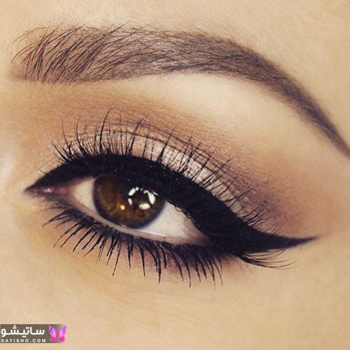 زیباترین مدل های خط چشم عروس ایرانی با طرح های فوق العاده لاکچری