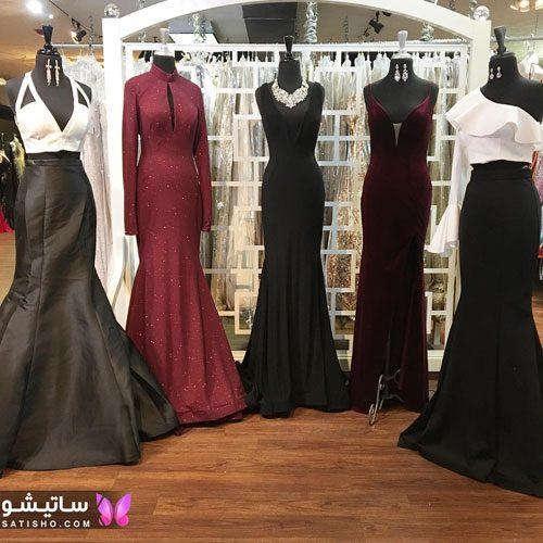 لباس مجلسی ایرانی دخترانه