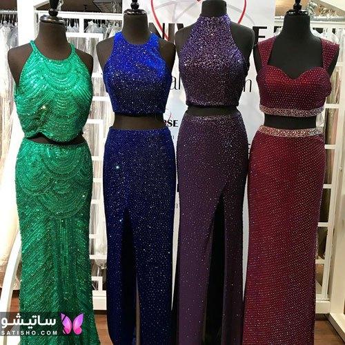 مدلهای مختلف لباس شب جدید