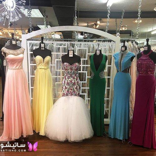 مدل لباس مجلسی دخترانه کوتاه برای عروسی