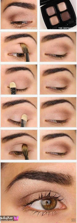 چطوری خط چشم بکشم؟