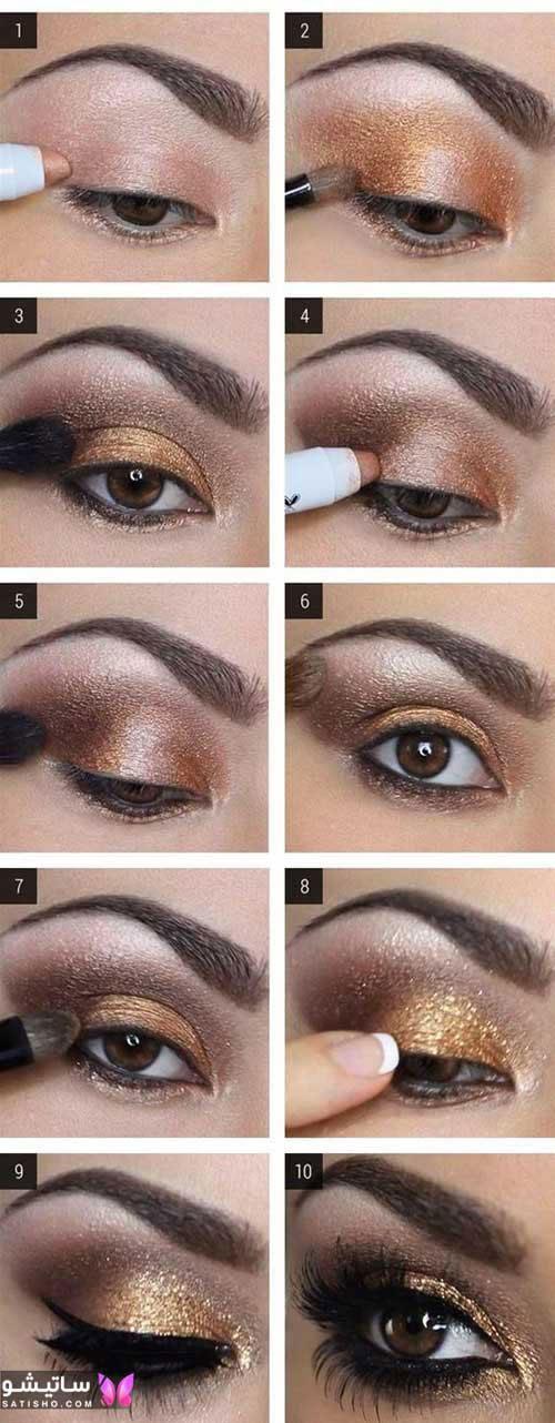 ترفند کشیدن خط چشم فوری