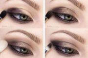 آموزش تصویری کشیدن خط چشم
