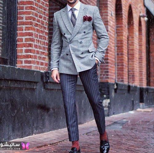 جذاب ترین مدل های کت و شلوار مردانه مجلسی و رسمی ۹۹