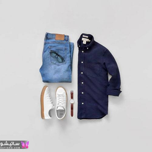 ست کامل لباس مردانه جدید