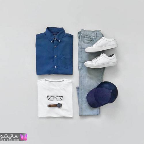 ست لباس مردانه اسپرت 2020