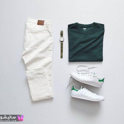 ست لباس تابستانه مردانه جدید