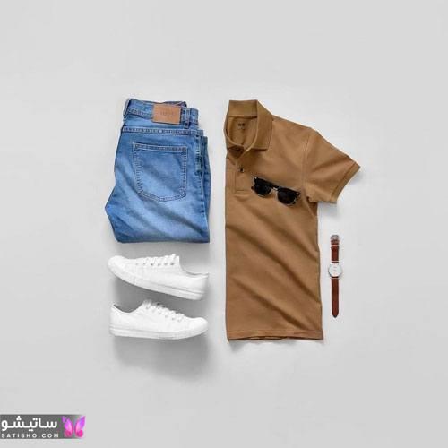 ست لباس مردانه اسپرت تابستانی