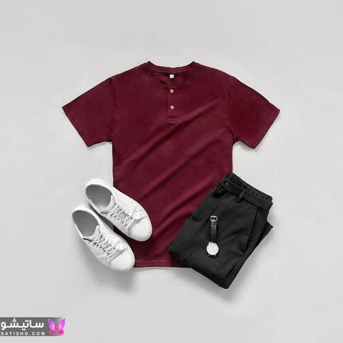 ست لباس مردانه اسپرت با قیمت