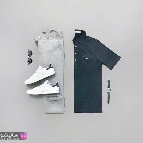 ست لباس مردانه اسپرت 99 خرید