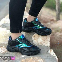 کفش اسپرت مشکی دخترانه 99