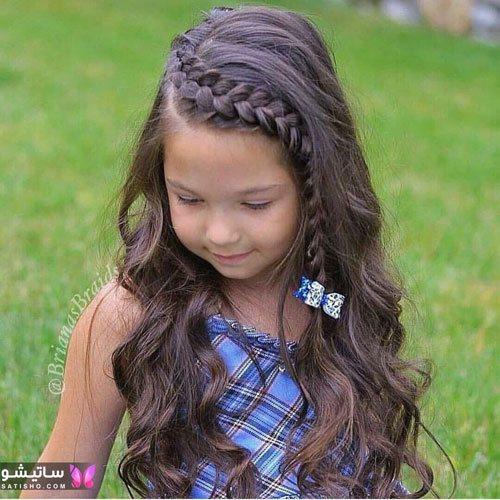 آموزش مدل مو بچه گانه دختر