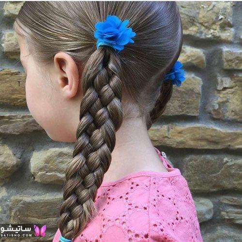 انواع بافت موی ساده