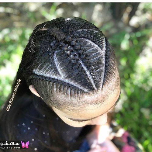 مدل بافت مو جدید دخترانه مجلسیمدل بافت مو جدید دخترانه مجلسی