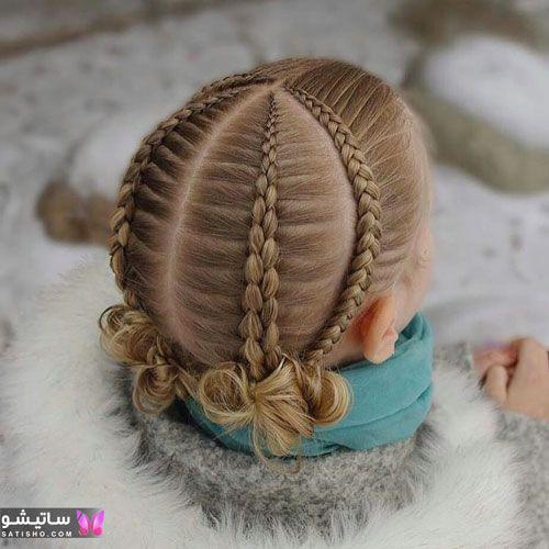 مدلهای بافت مو برای کودکان