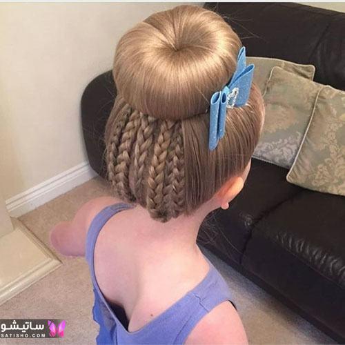 بافت مو دخترانه جدید ایرانی