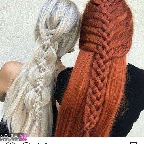 بافت مو خیلی زیبا