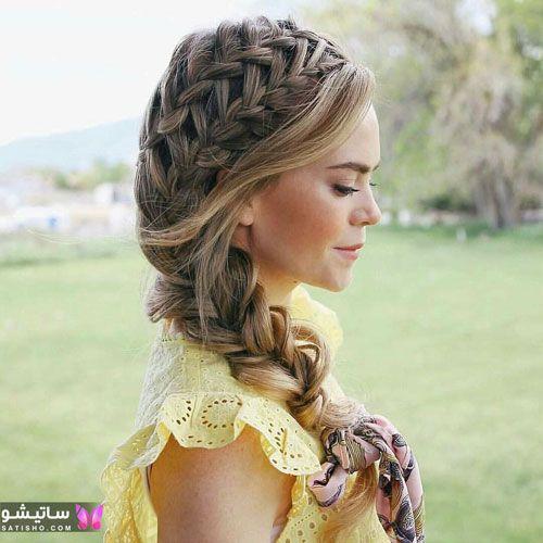 عکس بافت موی بسیار زیبا
