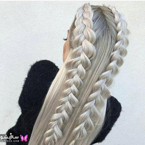 آموزش بافت مو خیلی زیبا بافت مو ترکیبی