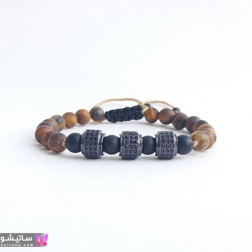 انواع دستبند بافتنی پسرانه