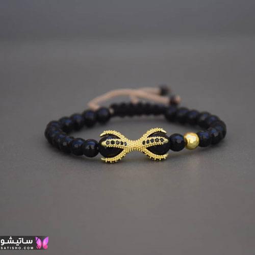 عکس دستبند پسرانه طلا