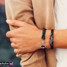 دستبند مردانه اسپرت طلا
