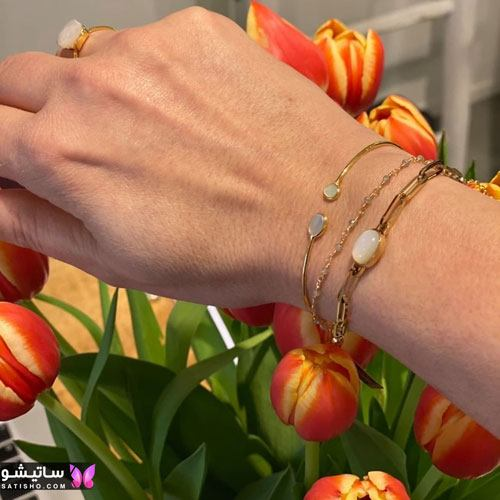 دستبند مردانه 2021 | دستبند مردانه اسپرت طلا