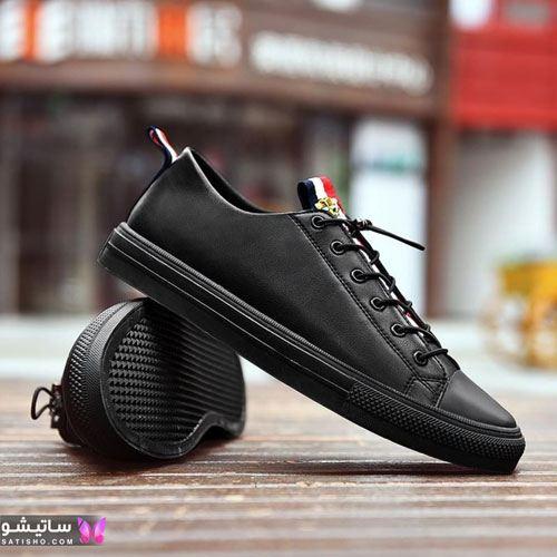 مدل کفش اسپرت مردانه با قیمت مـشکی رنگ