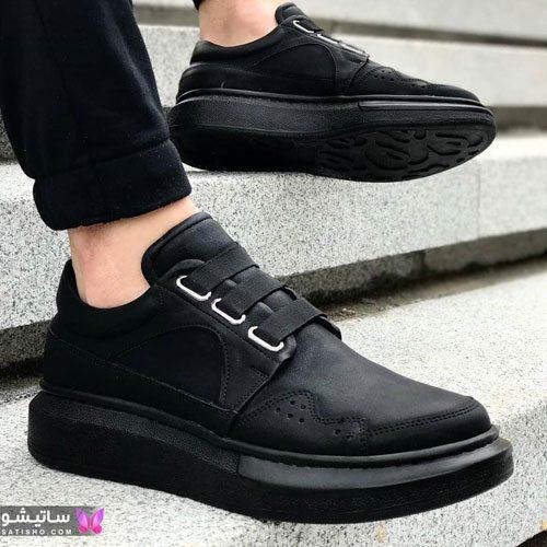 انواع کفش اسپرت مردانه مـشکی رنگ