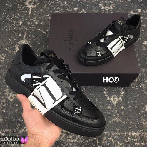 انواع کفش اسپرت پسرانه با قیمت مـشکی رنگ