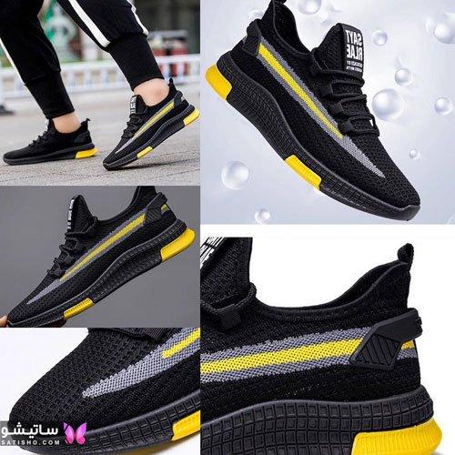 مدل جدید کفش اسپرت مردانه مـشکی رنگ