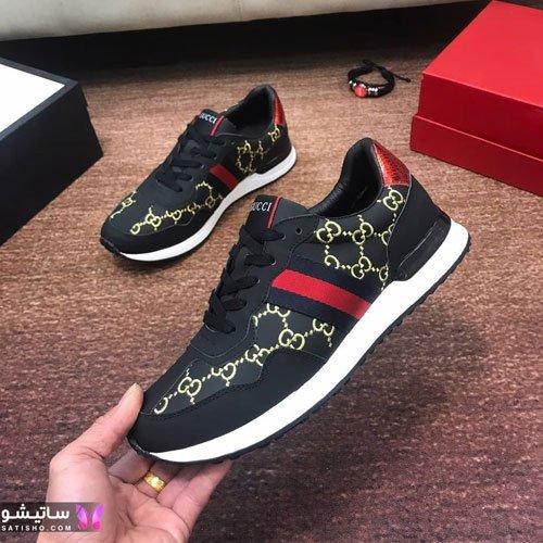 عکس جدید کفش اسپرت پسرانه مـشکی رنگ
