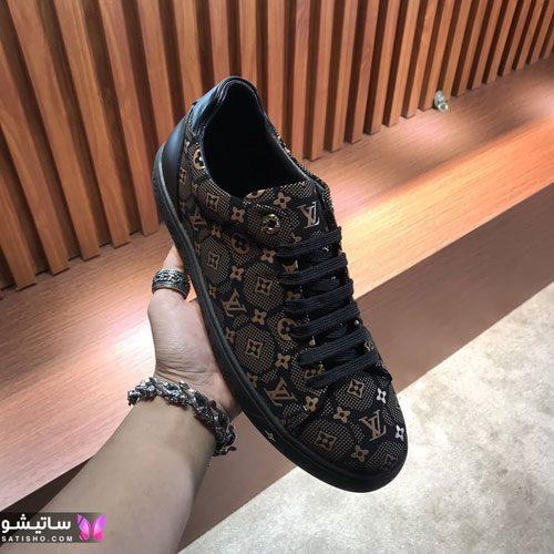 عکس کفش اسپرت پسرانه مـشکی رنگ