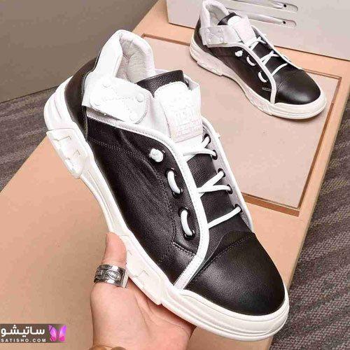 عکس کفش اسپرت پسرانه 99 مـشکی رنگ