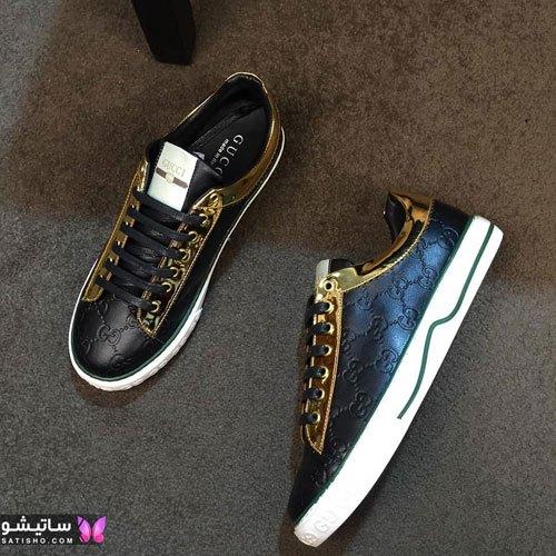 عکس کفش اسپرت پسرانه جدید مـشکی رنگ