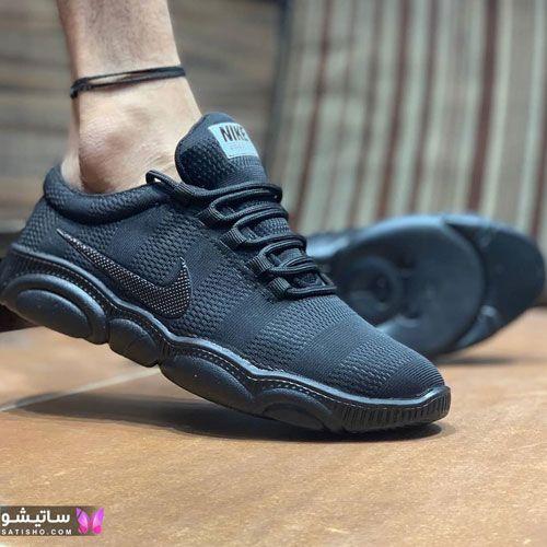 مدل کفش اسپرت مردانه 2020 مـشکی رنگ