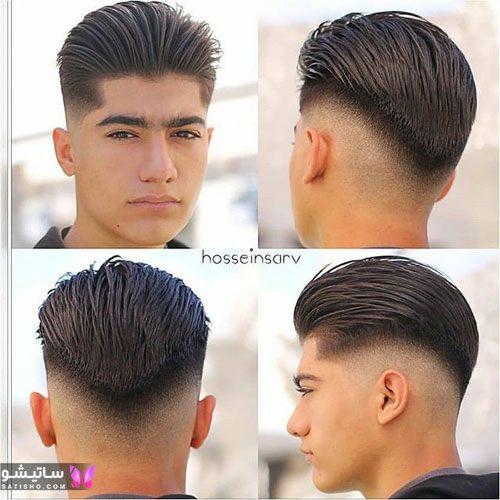 انواع مدل مو پسرانه کوتاه