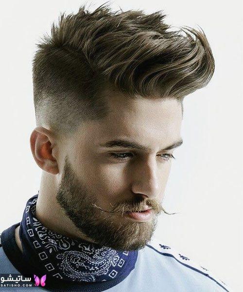 عکس مدل مو مردانه خامه ای