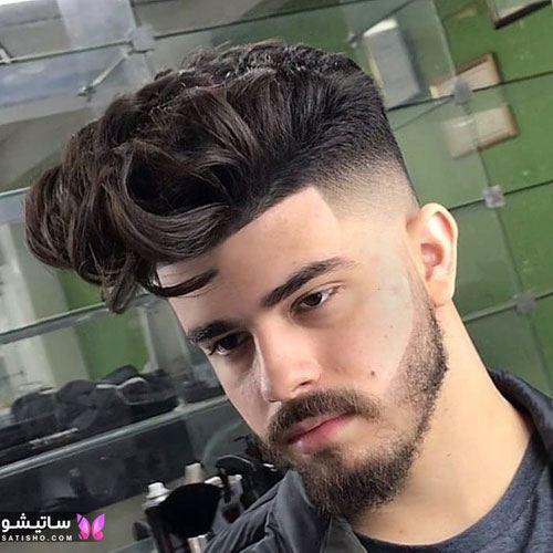 انواع مدل مو مردانه برای صورت گرد