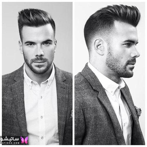 انواع مدل مو مردانه ساده